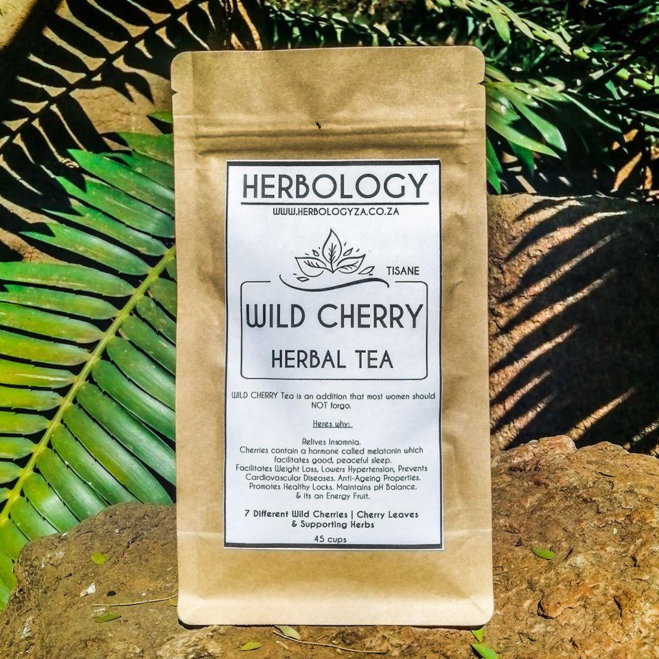Wild Cherry Herbal Tea