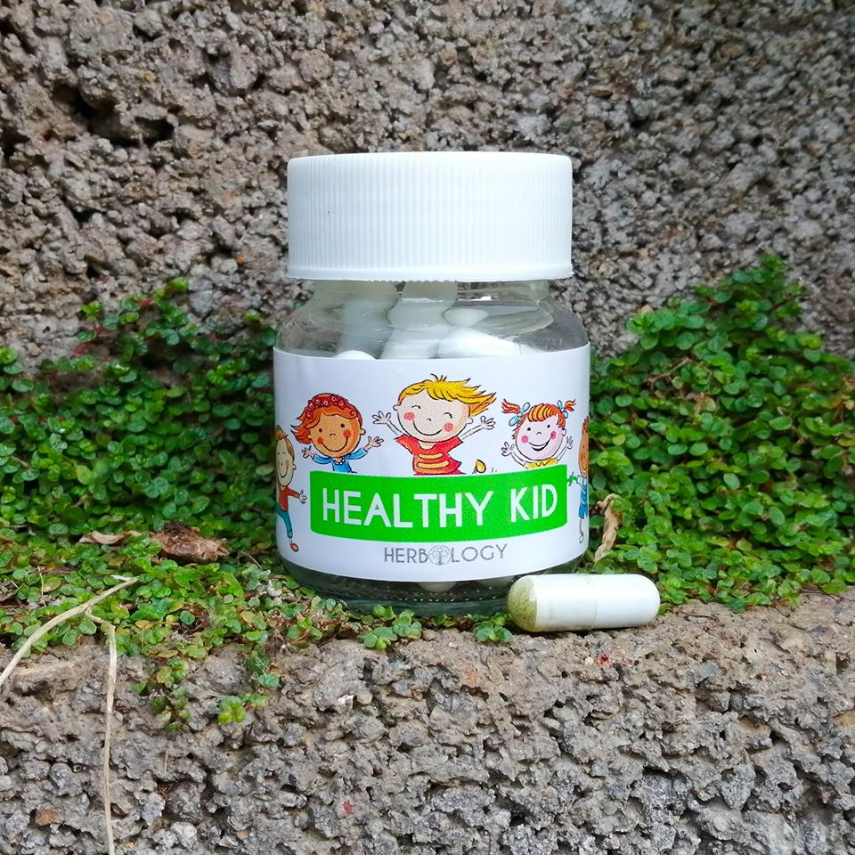 Herbology Healthy Kid Caps for the treatment of colds and infections