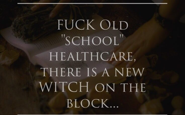 Fuck old school healthcare