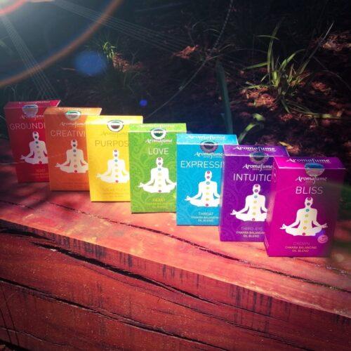 Aromafume Chakra Perfume Oils